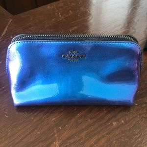 Coach vintage cosmetic bag. Gently used.